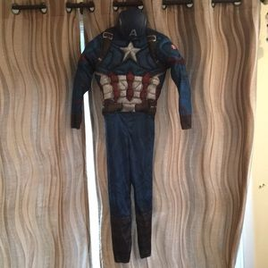 MARVEL Captain America muscle costume